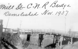 The Mill St. C.N.R. (Canadian National railways)