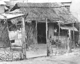 A home in Saigon, made of thatched straw