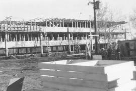 Canadian Mennonite Bible College dormitory construction