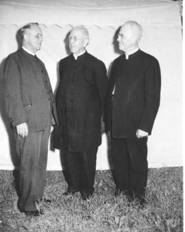 S. F. Coffman with George J. Lapp and Isaiah W. Royer