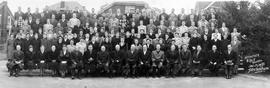 OMBS faculty and students, 1950