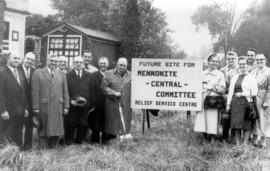 Groundbreaking for MCC Ontario  building in 1964.