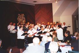 Preston and Wanner Mennonite churches choir singing