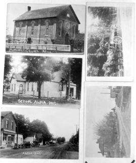 Alma, Ontario photos copied by David Hunsberger