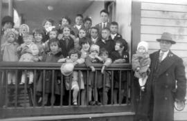 Group of children in Kitchener