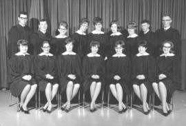 Elim Bible School graduates of 1965.