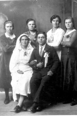 The wedding of Elisabeth Stobbe and Dietrich