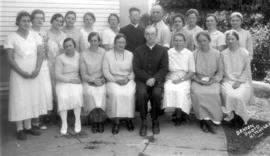 Summer Bible School at Baden, Ontario in 1935.