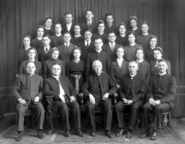 OMBS faculty and students, 1939