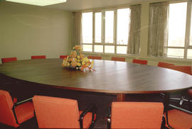 Conrad Grebel College Board Room at the time of