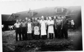 Kitchen staff at Montreal River Alternative Service Work Camp, 1941