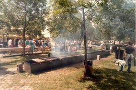 Barbecues (Fireplaces) at Bicentennial Festival,
