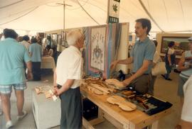 Craft display at Toronto Harbourfront, Aug. 2,