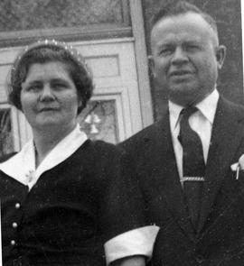 Rev. Gerhard A. Peters and his wife, Justina.
