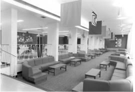 Lounge beside the cafeteria in the CGC residence