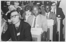 A cross section of delegates at Prague Peace Conference