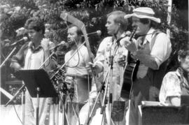Performing group at Bicentennial Festival, Aug.