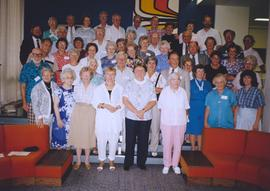 Elderhostel participants at Grebel