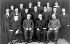 OMBS faculty and graduates, 1938