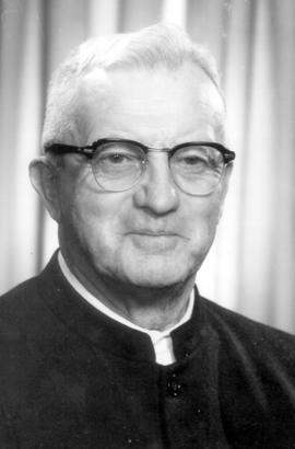 Amos Brunk. Ordained minister in 1940