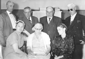 Oldest living descendants of Mr. and Mrs. Jacob Heinrichs who came to Canada in 1874