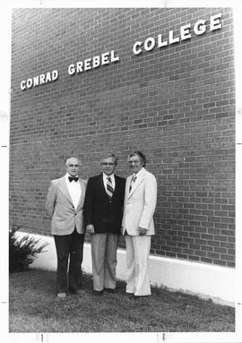 The first three presidents of Conrad Grebel