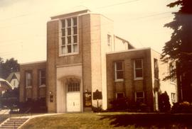 First Mennonite Church in Kitchener.  Found in