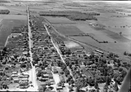 Aerial photos of St. Jacobs, Ontario. June 1948.