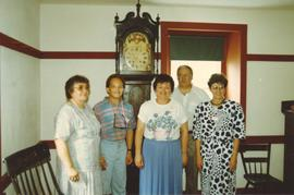 Wismer family with donated clock
