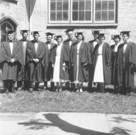 Canadian Mennonite Bible College graduates, June 17, 1954.