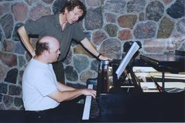 Len Enns and Peter Togni