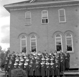 Graduating class of Rosthern Junior College