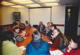 Christian Peacemaker Teams meeting with IMF staff