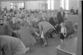 Footwashing at St. Jacobs Mennonite Church