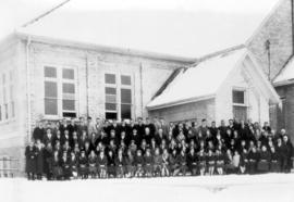 Ontario Mennonite Bible School students, 1928