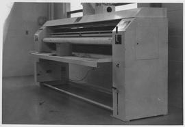 Flatware ironer at Mennonite Nursing Home in Rosthern, Saskatchewan
