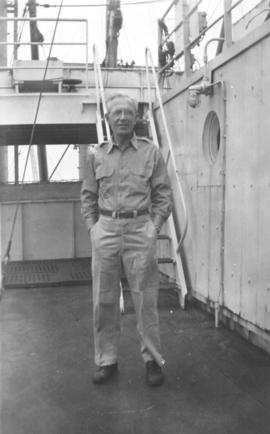 Captain DaSilva of the SS Plymouth Victory