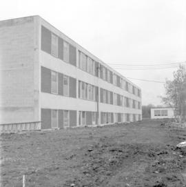 South side of the Canadian Mennonite Bible College dormitory
