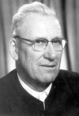Daniel Zehr. Ordained deacon at Cassel in 1946