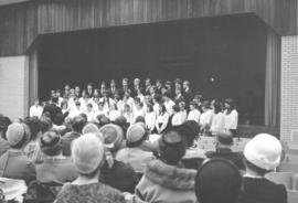 Rockway Mennonite School choir, 1969
