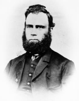 Copy of Isaac B. Bowman's portrait. Schoolteacher