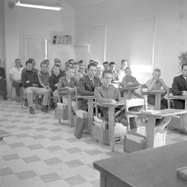 A meeting related to the Alberta Mennonite High School