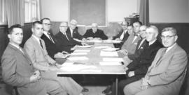 Conference of Historic Peace Churches executive meeting, 1963