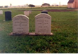 (Colour) Tombstones for Chris K. Zehr and