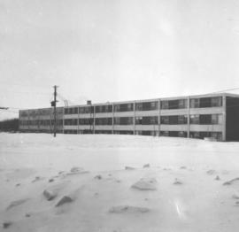 Canadian Mennonite Bible College dormitory extension, 1964