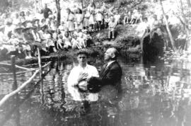 Baptism in Sumas River, B.C.?