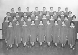 Canadian Mennonite Bible College A Capella choir, 1961