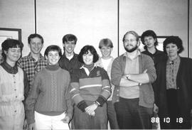 Conrad Grebel student council, 1988/89