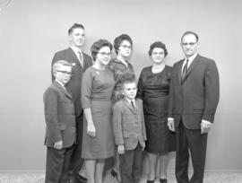 Abner B. Martin and family from West Montrose, Ontario