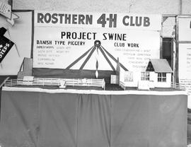 A winning exhibit prepared by the Rosthern boys